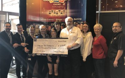 Chances Casino Kamloops Donates $6500.00 to Habitat for Humanity Kamloops